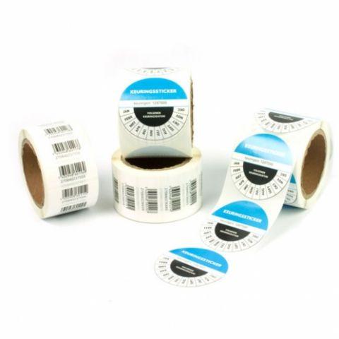 Personaliseerbare etiketten op rol in kleine én grote oplages