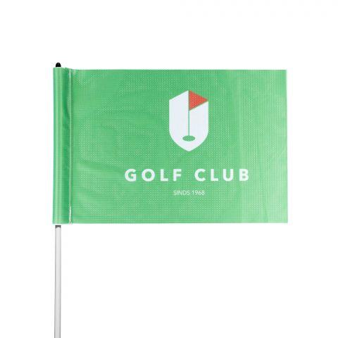 Ontwerp eenvoudig golfvlaggen: een kleurechte blikvanger